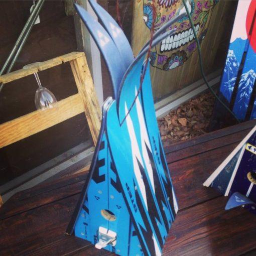 Ski Chalet Birdhouse