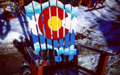 Order a custom painted ski chair!