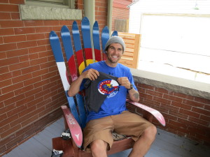 Bobby Brown, Colorado Flag Adirondack Chair