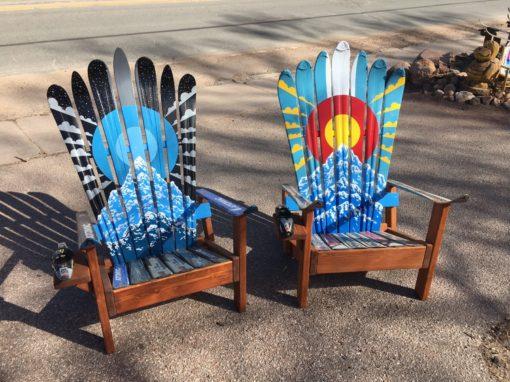Adam Vernon Colorado Ski Chairs