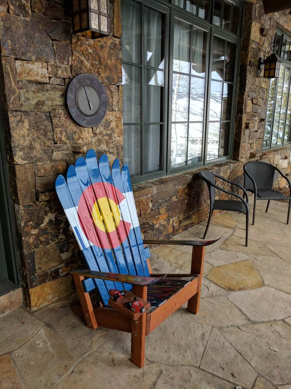 Colorado Adirondack Ski Chair our best seller comfort – Adirondack Ski Chairs