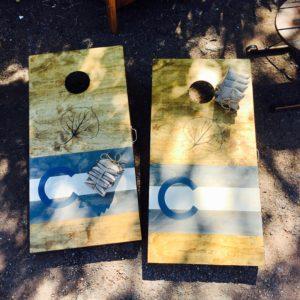 Wooden Cornhole Board Sets