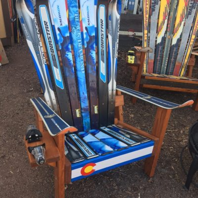 Adirondack Ski and Snowboard Benches Colorado Ski Chairs – Adirondack Ski Chairs