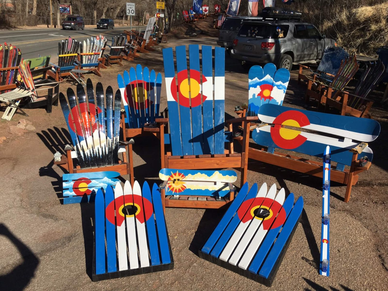 Colorado Ski Furniture