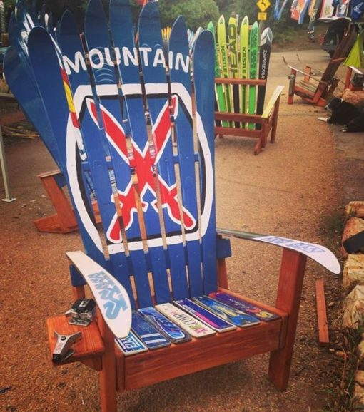 10th mountain Division Climb to Glory adirondack ski chair