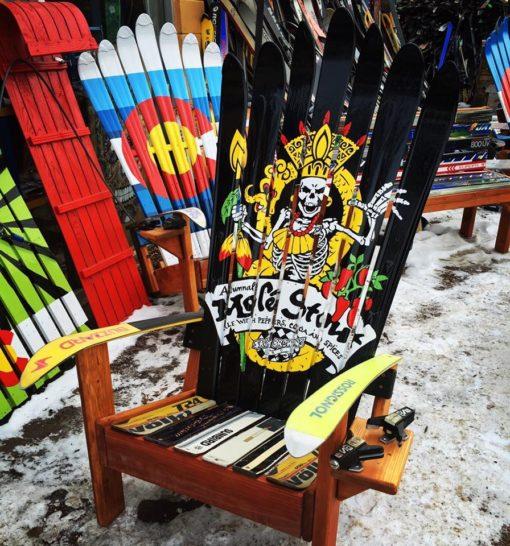 SKA Brewery ski chair