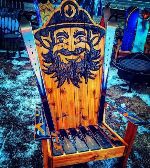 Tommyknocker chair