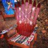 Crossed Arrows Adirondack Ski Chair