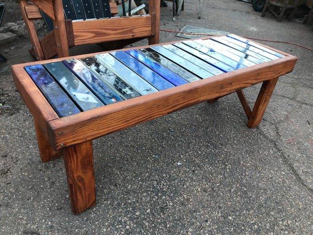 Astonishing Ski Coffee Tables Bralicious Painted Fabric Chair Ideas Braliciousco