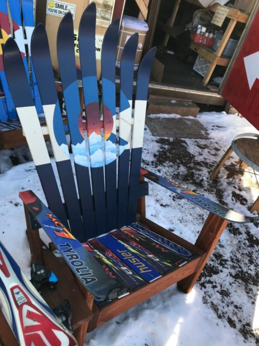 Colorado Sunset Telescope Ski Chair