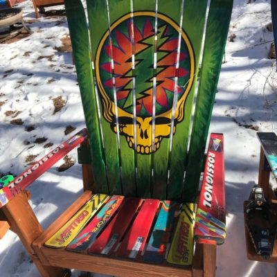 Rasta Stealy Chair