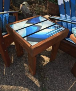 Ski top Side Tables