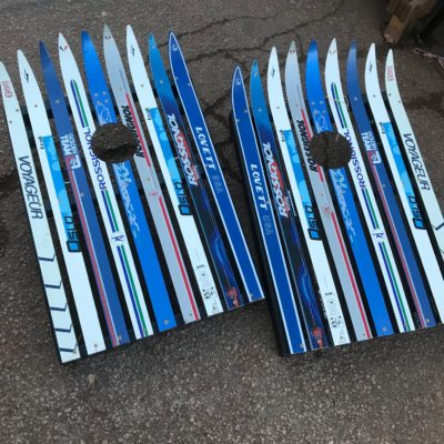 Cross Country Ski Cornhole Sets