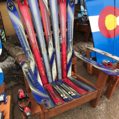 K2 patriot adirondack ski chair