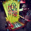 Bob Marley Art Adirondack Ski Chair