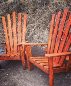 "Colorado Ski Furniture XXL 72"" (6 feet) Tall Giant Oversize Adirondack chair"