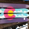 Neon CO ski wall flag