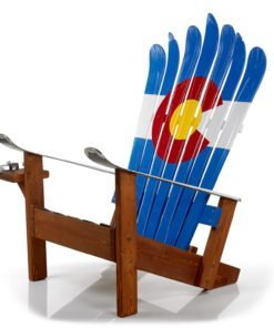 Our Chairs Are Built From Top Quality Woods, Repurposed Skis U0026 A Lottau0027 Love