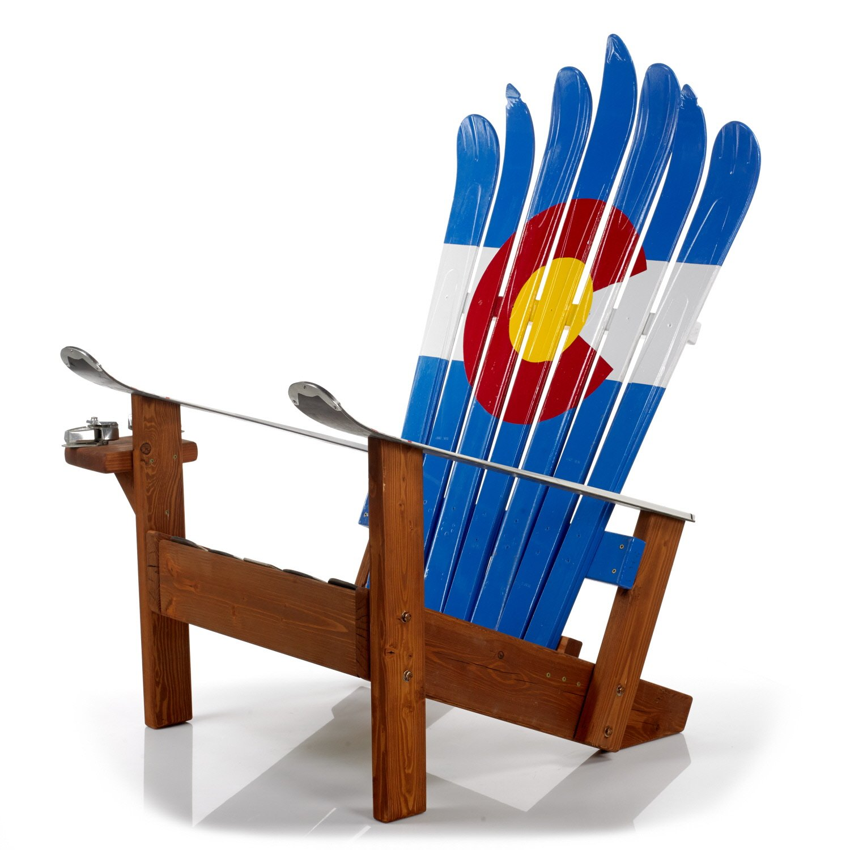 Colorado Adirondack Ski Chair