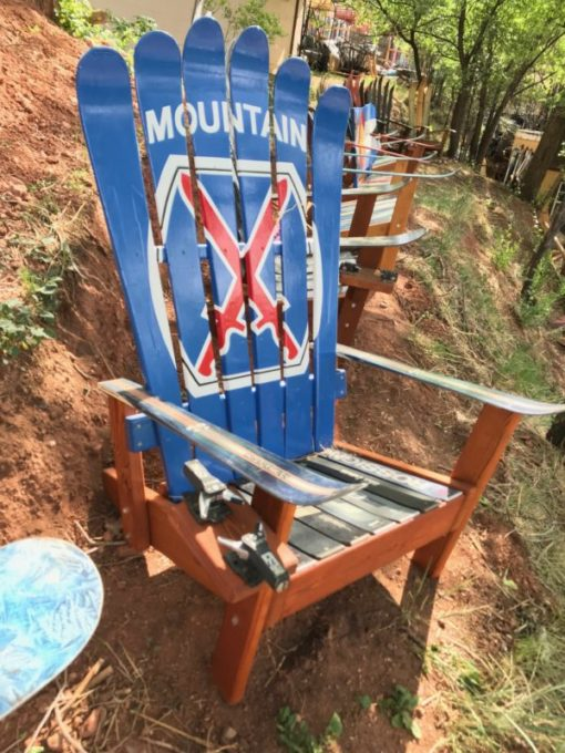 10th Mountain Adirondack Ski Chair