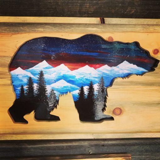 Bear Mountain Mural Beetlekill Wall Art