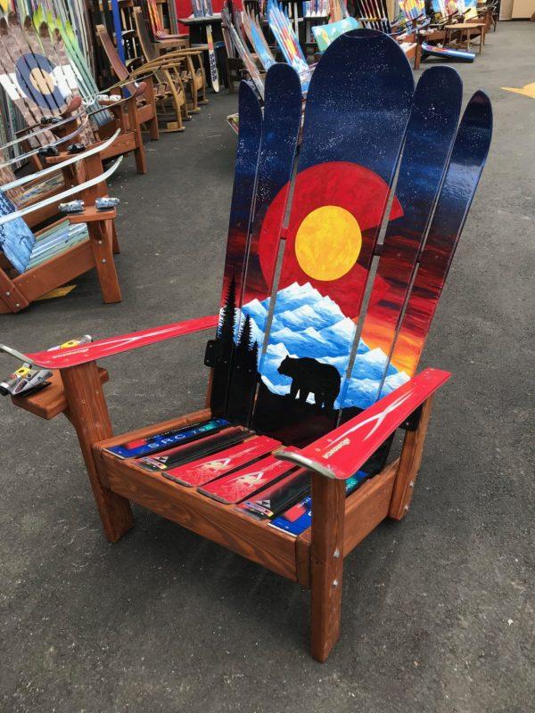 Colorado Sunset Bear Mural Hybrid Ski & Snowboard ...