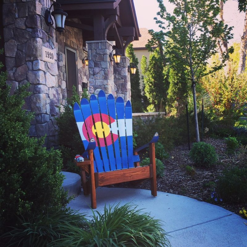 Awesome Colorado Adirondack Ski Chair Short Links Chair Design For Home Short Linksinfo