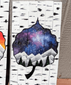 Aspen Ski Mural Wall Art
