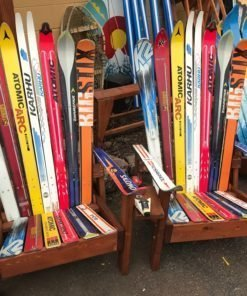 Sentimental Custom Ski Chair Pair
