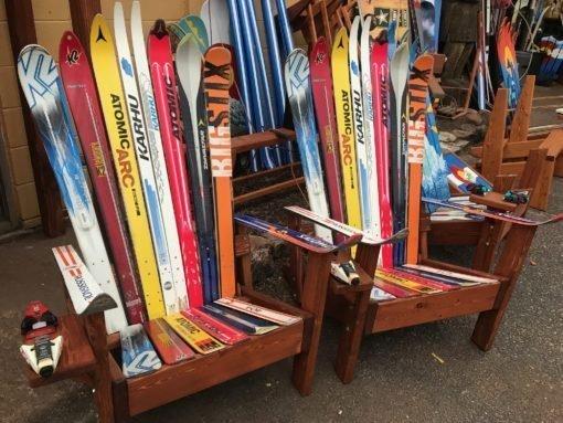 Sentimental Custom Ski Chair Pair