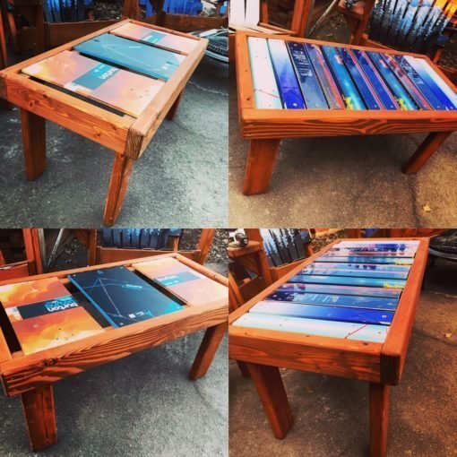 Ski & Snowboard Coffee Table