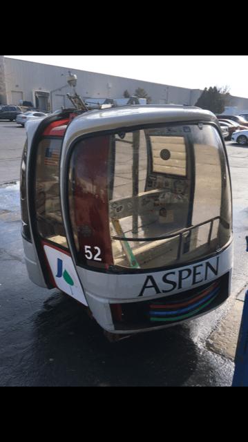 Aspen Mountain Silver Queen Gondola Cabin
