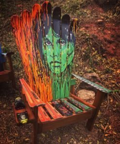 Jim Morrison Adirondack Ski Chair