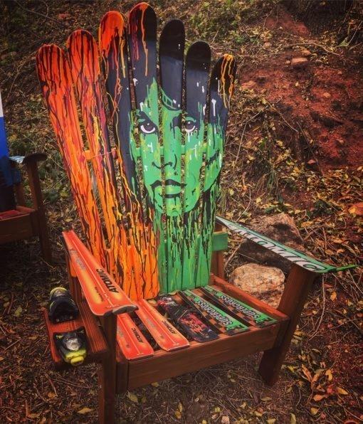 Jim Morrison Adirondack Ski Chair