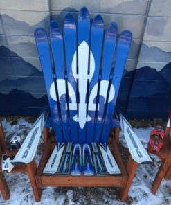 Excellent Set Of 3 Two Canada Flag And One Quebec Flag Adirondack Short Links Chair Design For Home Short Linksinfo