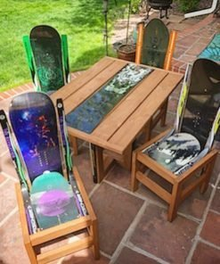 snowboard patio sets