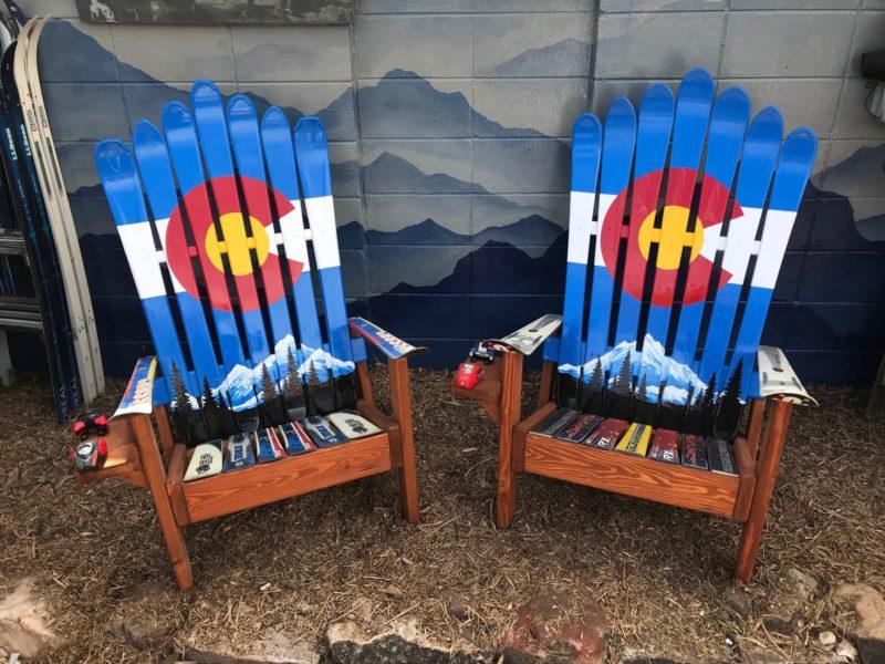Beau Colorado Ski Chairs