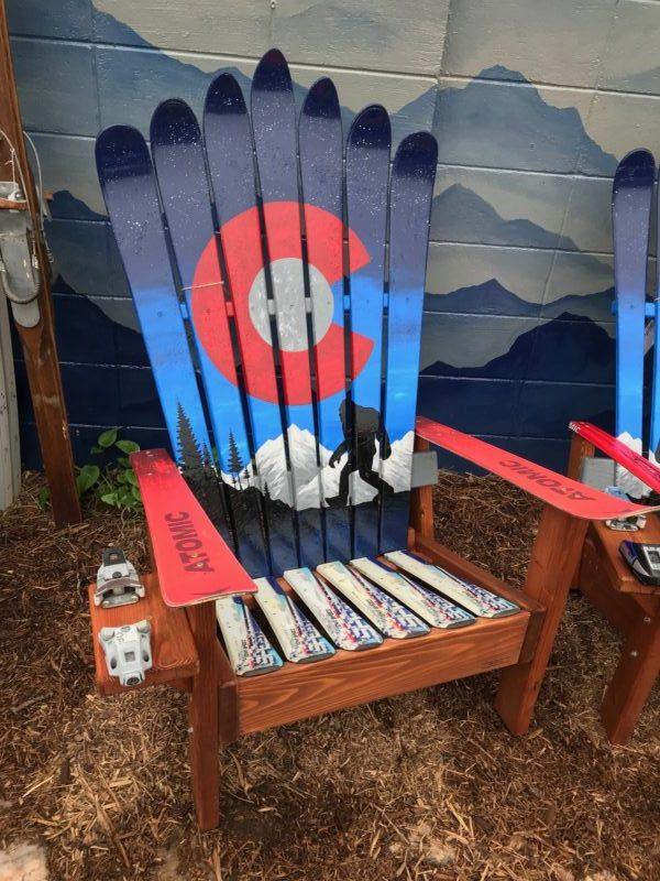 Merveilleux Colorado Ski Chairs