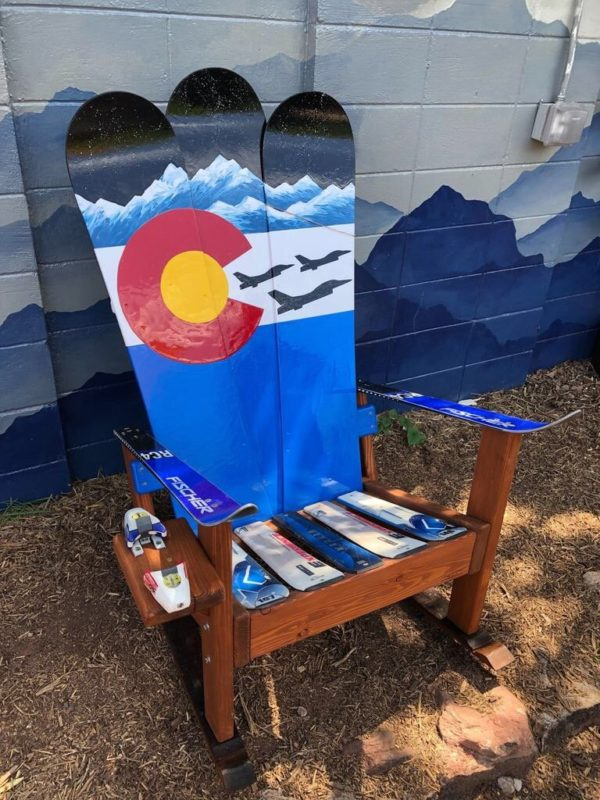 Air Force F 22 Fighter Jets With Colorado Flag Mountain