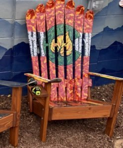 Aspen trees & leaf Colorado Chairs